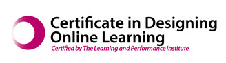 Certificate in Design of Online Learning