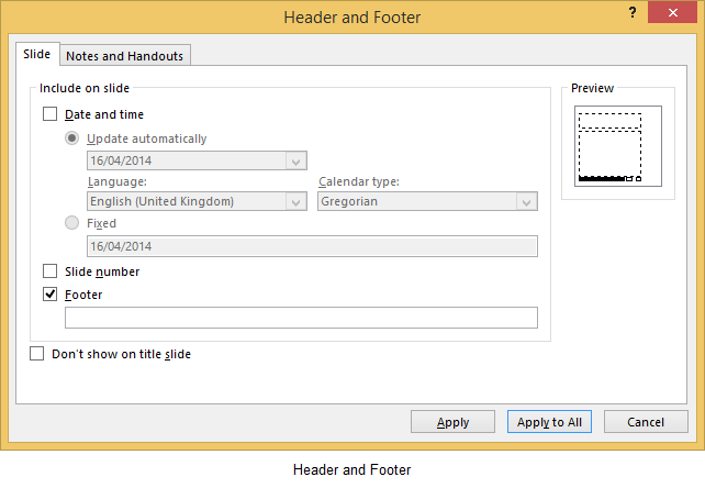 How to insert headers and footers in microsoft powerpoint 2013 the how to insert headers and footers in microsoft powerpoint 2013 toneelgroepblik