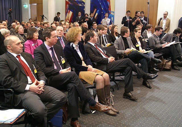Audience at symposium