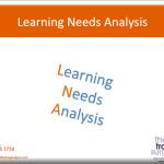 Learning Needs Analysis