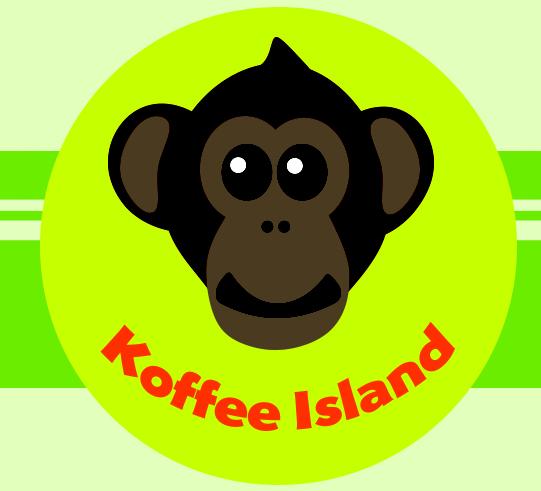 Shelley Fishel - Koffee Island Book Logo Copyright