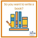 So you want to write a book-